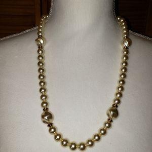 Vintage Napier Faux Pearl Necklace